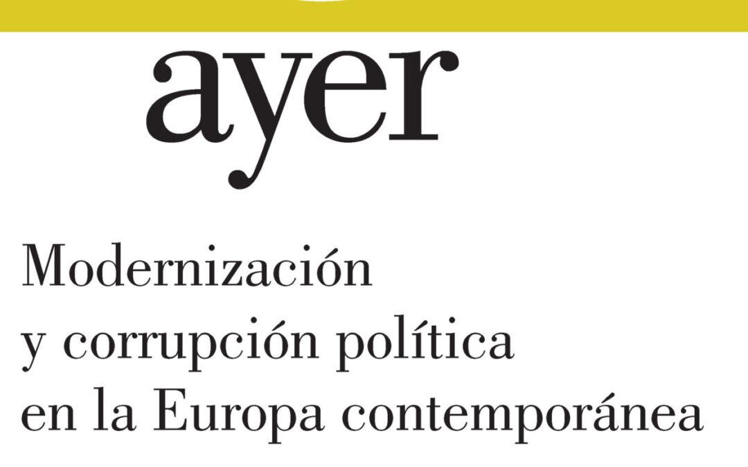 Modernización y corrupción política en la Europa contemporánea – Frédéric Monier &Gemma Rubi (dir.)