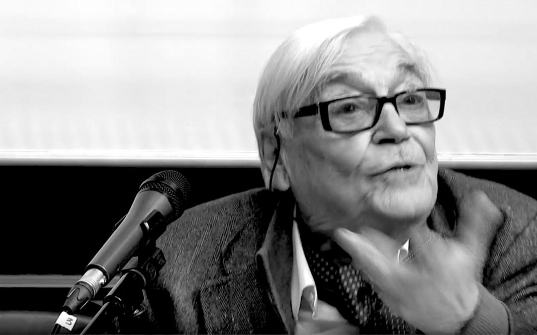 Jean-Claude Passeron, un sociologue sur son métier («A voix nue», France culture, 2016)
