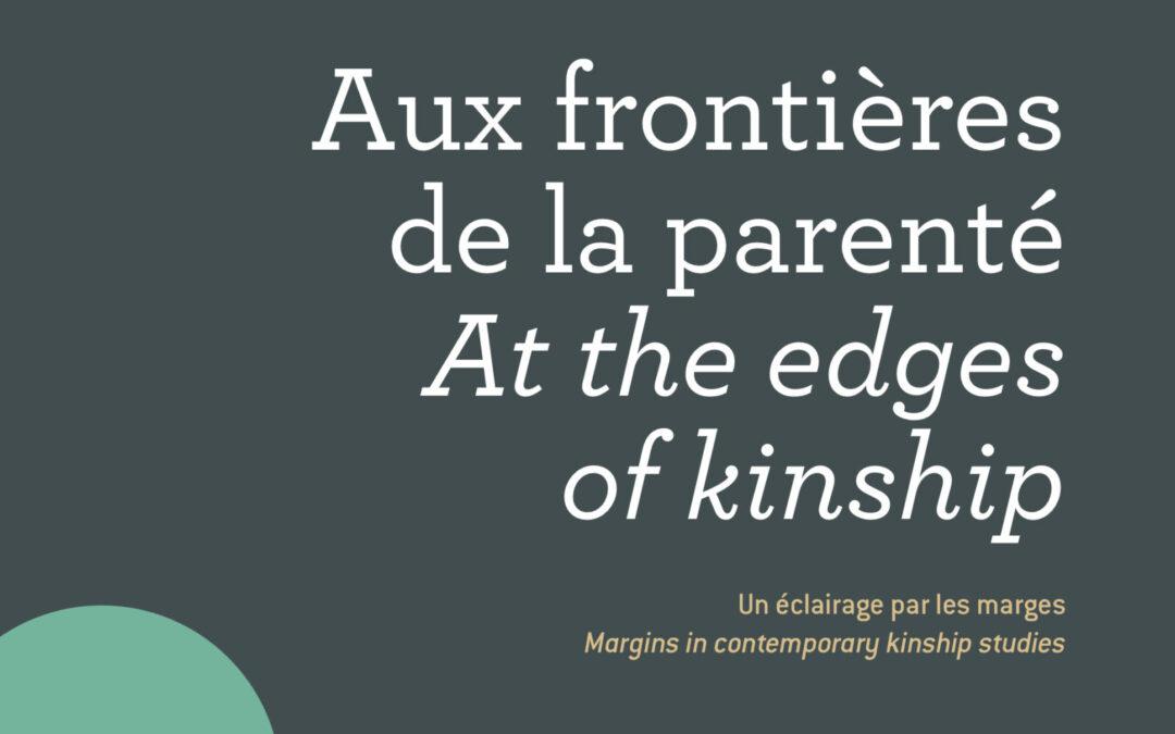 Aux frontières de la parenté  – Anaïs Martin, Manon Vialle, et al (dir.)