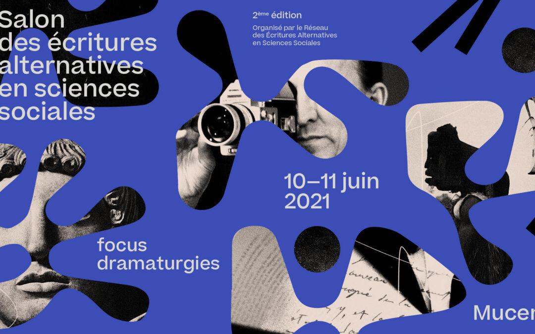 2e Salon des écritures alternatives en sciences sociales, Marseille, 10-11 juin 2021